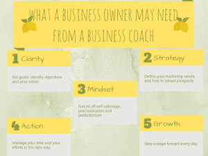 business owner requirements from a business coach