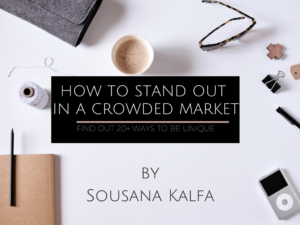 How to stand out in a crowded market (1)