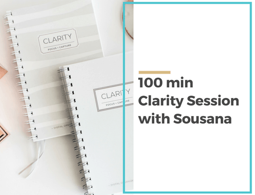 100 minClarity Sessionwith Sousana