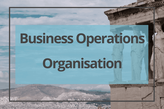 business operations organisation Greece