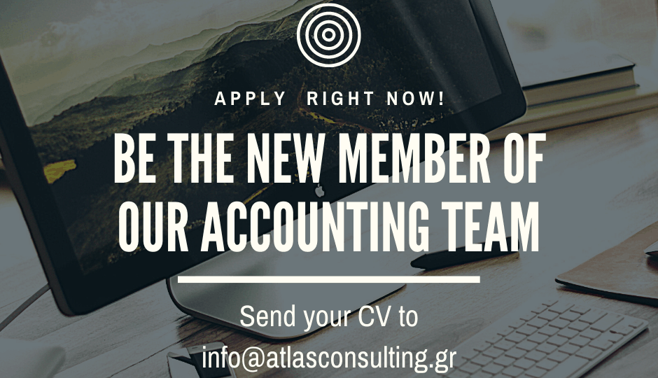 Be our new Accountant.